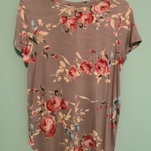 Tops - Flower shirt from Francesca's